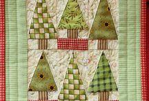 Bomen/Bladeren quilts