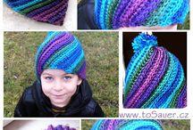 pletene čiapky