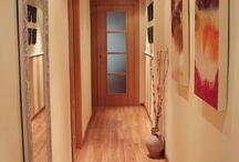 decoración pasillo y entrada