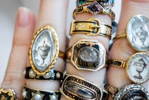 """Mourning Jewelry / Inspiration Board for my short story """"Mourning Glory."""""""