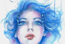 Water color / Water.color portraits