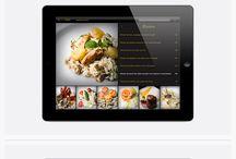 Tablet menu
