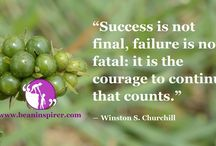 Articles on Success / Be An Inspirer - Spread the Inspiration Visit - www.beaninspirer.com for more.
