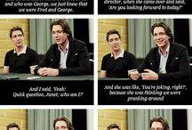 Weasley/Phelps twins