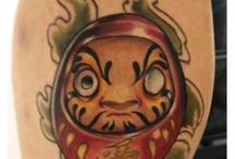 Daruma / Desenhos para tattoo