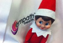 Find Hope / Empath Health's Elf Hope is here to help #FindHope through the holiday season.