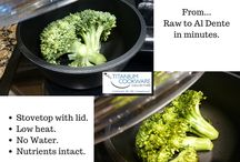 Quick WITHOUT the Microwave / Cooking whole foods without destroying them in a microwave. Convenience of a vapor oven on your stovetop. Fast!