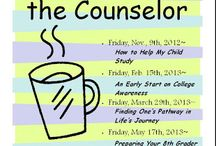 school counseling - parents / by Jessie Frizzell
