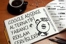 Google Adsense alternatifi Yabancı Reklam Servisleri