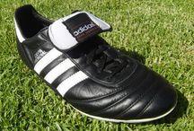 Footballer's shoes