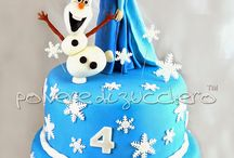 disney cake: le mie torte / disney cake with sugar paste le mie torte