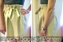 my simple skirt