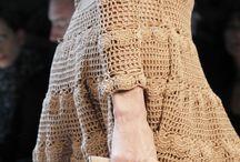 crochet ferragamo dress