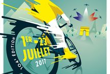 Official posters Tour de France