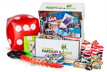 Hassle Free Parties for Busy Parents! / Our party boxes contain everything you'll need, from invites to tableware and decorations. There is a leaflet to guide you through a selection of party games and we've even included props and prizes. The party bags are filled with carefully selected items to delight your young guests. Simply add food and guests! (psst...don't forget the matches!)