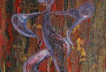 Marian Lupu LUPINO - PERSONAJ / Painting-oil on canvas-LUPINO-Email: mlupubm@yahoo.com