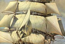 Clipper Ships / Dramatic sweeps, robust excitement ..what not to love about a clipper ship?