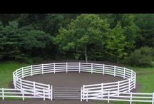 Horse arena/round pen