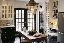 Kitchen / Kitchen space ideas, kitchen cabinet, kitchen decoration, kitchen modification