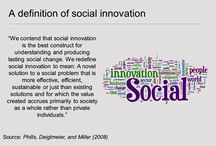 Social Innovation - Social entrepreneur