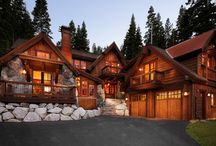 Rustic Homes / by Alan Jenks