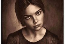 Portrait Drawing and Painting / I am a portrait painter.  With my works, I would like to present the magical world of portrait painting to inspire other people. You can order your portrait from photo ! contact me via email: portrait@email.de