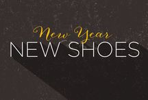 A New Year for New Shoes / Is your resolution to stay fit this year? Get the latest fitness tips and stay motivated through out the year here and we'll help you maintain those 2014 resolutions. / by Peltz Shoes