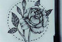Tattoo pointillisme