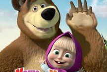 Masha and the Bear / by yunnie anniversari