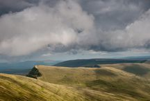 Brecon Beacons / Dramatic, brooding and wonderfully unspoilt, the Brecon Beacons offer real escapism into the wild outdoors. http://www.secretearth.com/destinations/312-brecon-beacons-national-park