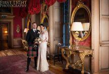 Hopetoun House, Edinburgh / Images of Hopetoun House, a wedding venue on the outskirts of Edinburgh.