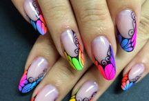 Neon Summer Nails!