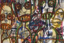 Aboudia | What's AfricArt / http://whatsafricart.altervista.org/aboudia-i-graffi-della-guerra/