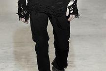 tela preta para vestir