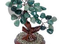 """Feng Shui Árboles Cuarzos, Piedras Naturales / Cuando se obsequia un """"Árbol de la Prosperidad"""" más que un regalo decorativo, está brindando una Energía Positiva especial de Bienestar y Protección. Trabajo realizado 100% a mano."""