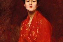 Kimono & Art / Kimono in Western Paintings