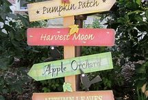 Fall/Halloween Decorations / It's never too early to start planning for fall/Halloween decorations