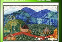 Embellish Postcard Swap New Guinea
