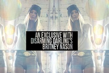 "Disarming Darlings: Britney Nason / What sets Disarming Darling apart is that I really do march to the beat of my own drum. I don't read fashion magazines, I don't ""keep up"" with whatever is current… I'm just in my own organically created world. ...- Britney Nason"