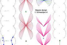 dekoráció: fonal grafika
