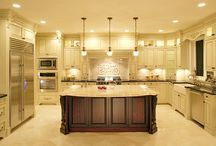 Home Sweet Home:  Kitchen / Creating the perfect space to cook and gather :) / by Kristin Hassan