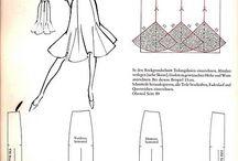 Patrones de vestidos y faldas