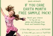 Earth Month 2014 / Celebrate Earth Month with If You Care!  Here's your chance to receive our gluten and allergen-free Snack and Sandwich bag FREE Sample Pack from April 1-30th. Sign up on instagram @ifyoucare_usa or tweet @if_you_Care. Name you healthy snack and comment #EarthTreat!  Visit http://www.ifyoucare.com/product/snack-and-sandwich-bags for a complete list of ingredients.
