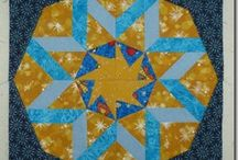 Foundation Paper piecing / Foundation pieced quilts