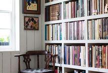 Boekenkast & boekenplank idee