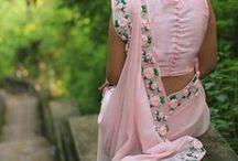 inspirations to saree safar