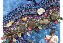 beaded embroid.