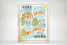 DESIGN :: Scriptural Typography