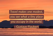 Travel Quotes, Adages, and More