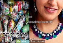 WHATTAY WASTE / Are you a DIY (do-it-yourself) person who loves to recycle or upcycle things around your house? Share pictures of your creations & inventions on your timeline (tagging us) or on our Facebook page.  https://www.facebook.com/thealternative.in  Best entries will be featured in a photo story and one of them would win an exquisite piece of handcrafted jewellery, made from upcycled PET bottle plastic, sponsored by Silver Nut Tree  https://www.facebook.com/SilverNutTree
